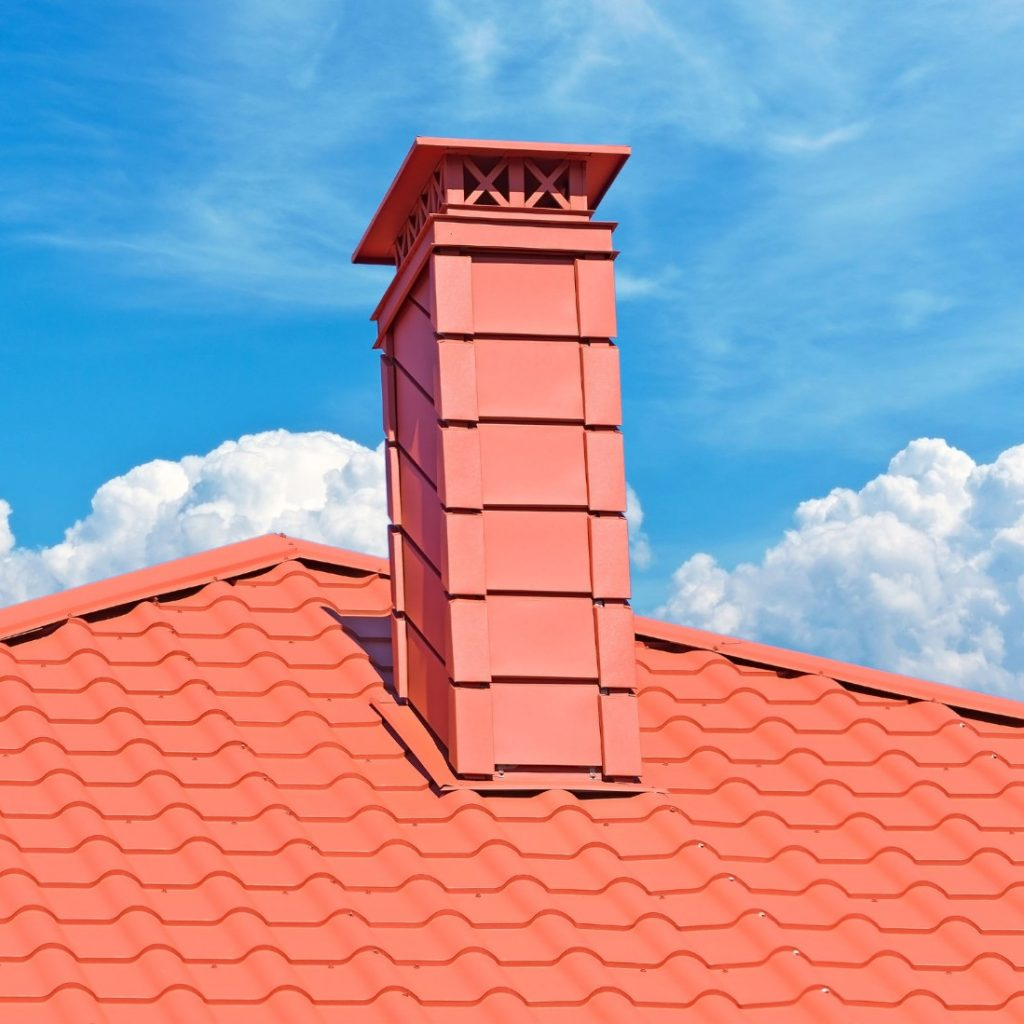 flashing around a chimney