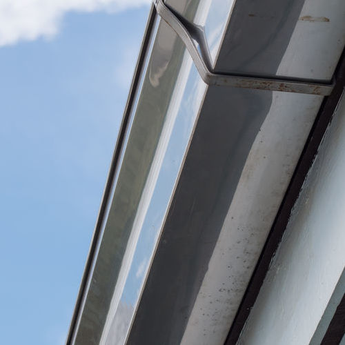 Roof Restoration Does Not Effect Gutters.