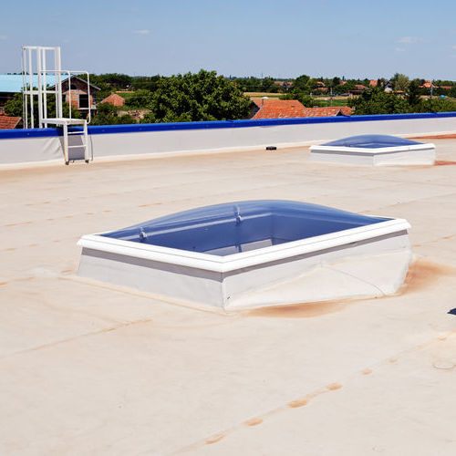 Not all cool roofs are white, but white is the most common color for a cool roof.