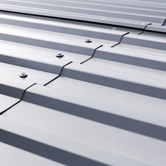 metal roof in need of coating