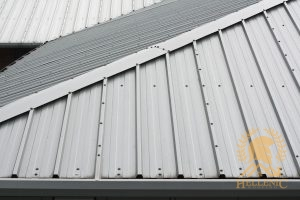 Commercial Corrugated Roof
